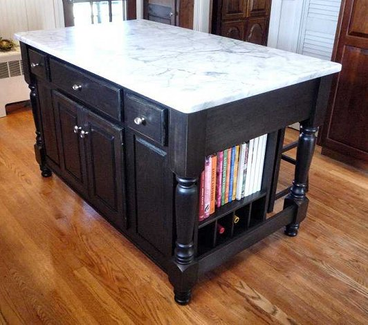 3 Ft Kitchen Island