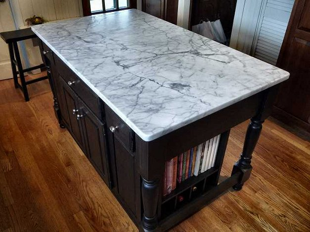 kitchen island marble top roselawnlutheran